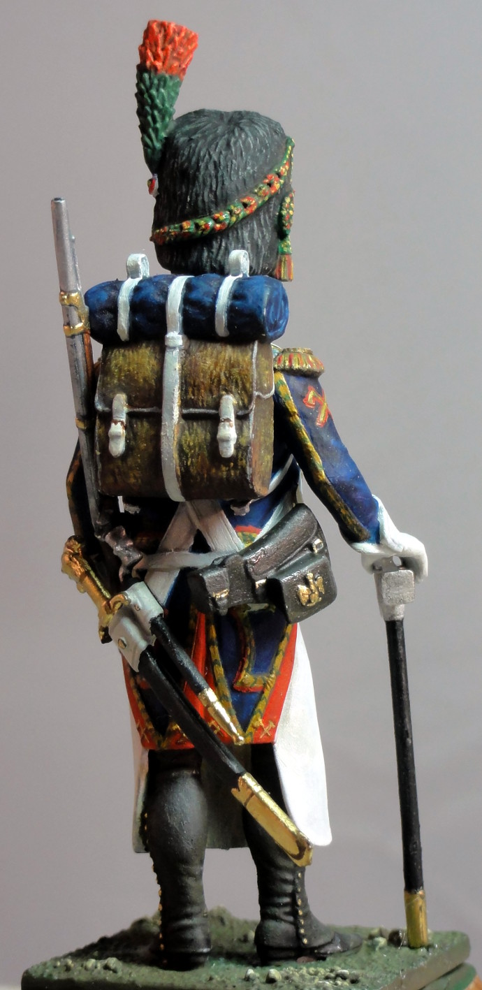 Sapeur des chasseurs de la Garde MM Sapeur12