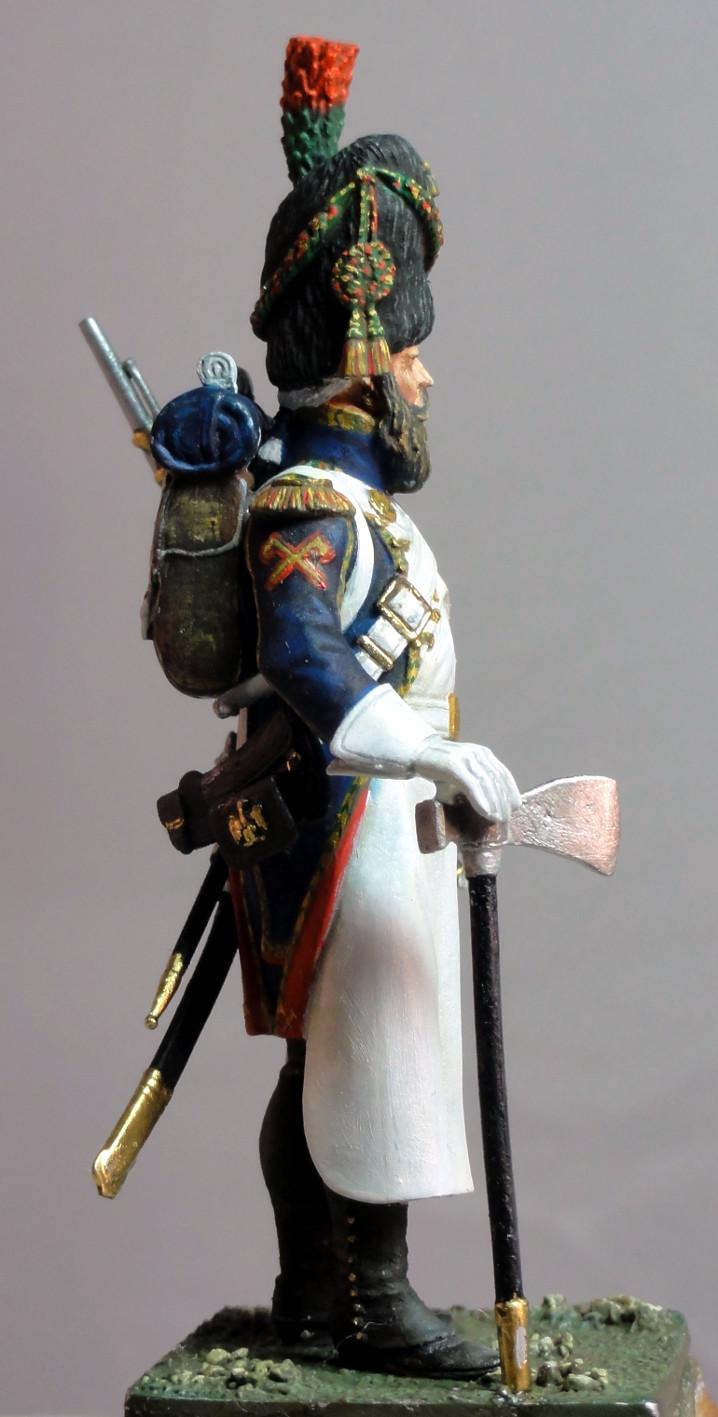 Sapeur des chasseurs de la Garde MM Sapeur13