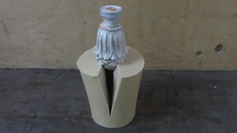 copie de sculpture en résine Pomme610