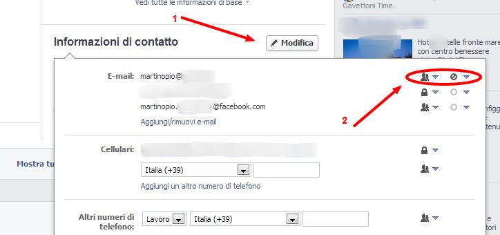 Come faccio a cancellare l'e-mail su Facebook? 2vajtw10