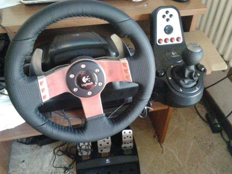 Recensione Logitech G27 (Volante per PC, PS2 e PS3) 34pe6g10