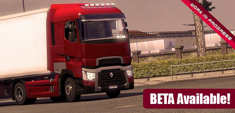 Mod Renault Gamma T (beta) - Euro Truck Simulator 2 96784010