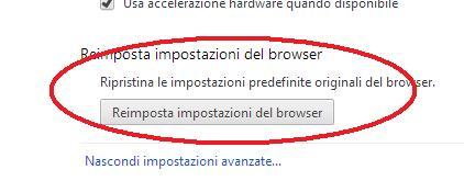 Problema con finestre che si aprono in automatico su Google Chrome con dentro pubblicità Chrome11