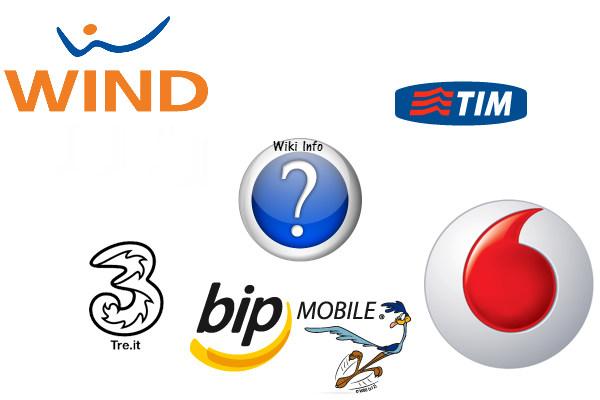 Qual'è l'operatore telefonico che utilizzate di più? Retiin10