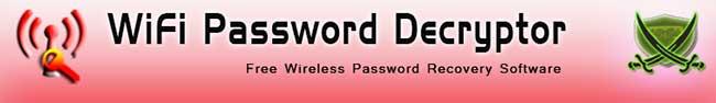 Recuperare password dimenticate del proprio modem wi-fi - WiFi Password Decryptor Wifipa10