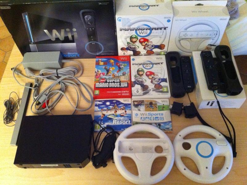 Wii + accessori Img_2410