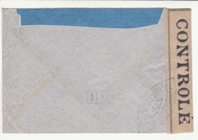 """Lettre de Rouze (Ariège) affranchie 4f Pétain surchargé """"Croix de Lorraine""""  _3000711"""