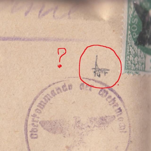 """Lettre (de Paris) avec oblitération """" rosette de Lyon"""" de septembre 1943 avec contenu. _5000511"""