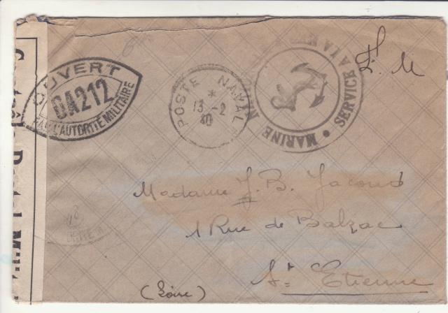 Croiseur lourd Duquesne en février 1940. _7000410