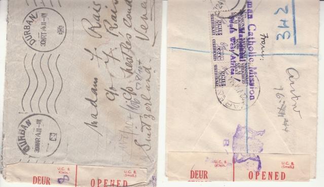 Timbres Magazine : itinéraire d'une lettre chargée sur fond de bataille navale _ab10