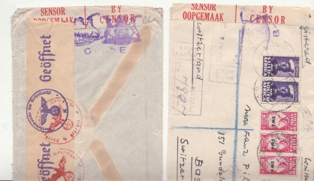 Timbres Magazine : itinéraire d'une lettre chargée sur fond de bataille navale _abb10
