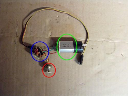 Electronique pour train rentrant électrique 00210