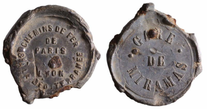 a) Compagnie des chemins de fer PLM  1857 à 1938 D248310