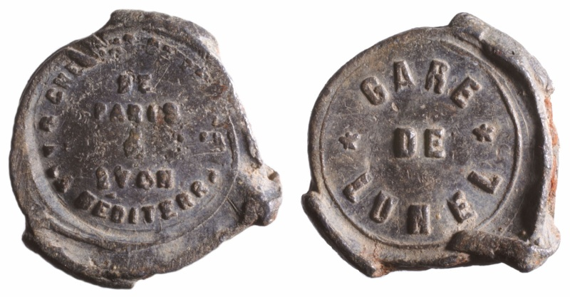 a) Compagnie des chemins de fer PLM  1857 à 1938 D248410