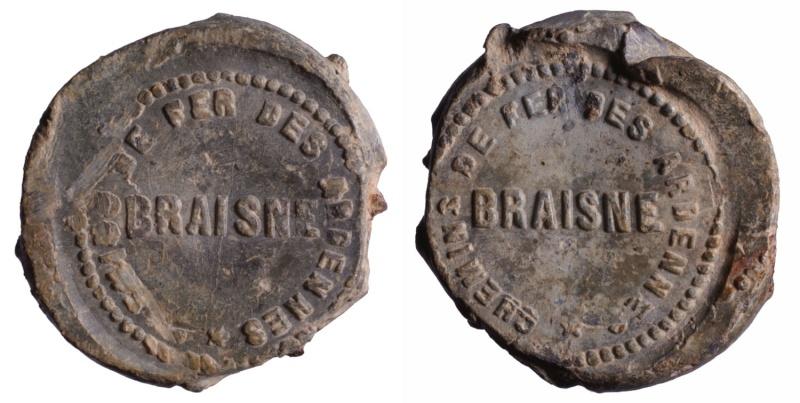 j) Compagnie du chemin de fer des Ardennes 1857-1863 D252910
