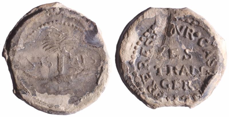 Les plombs de soyeux de Nîmes. D78010