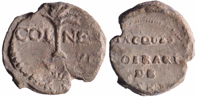 Les plombs de soyeux de Nîmes. D89410