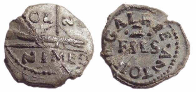 Les plombs de soyeux de Nîmes. For6010
