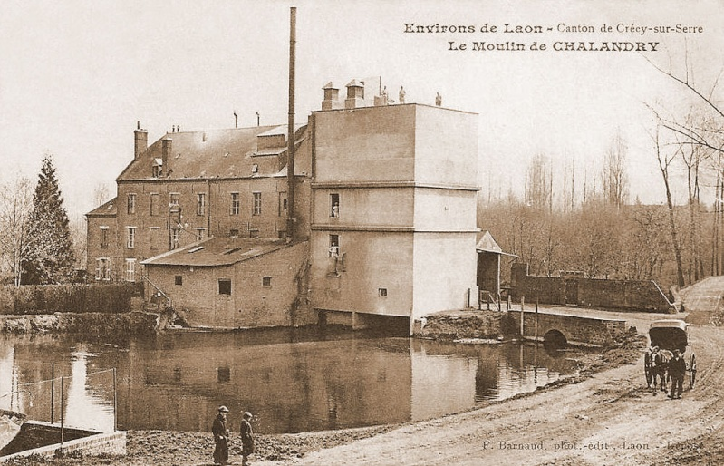 Dt 02: Aisne Moulin de Chalandry J. Poignant Moulin12