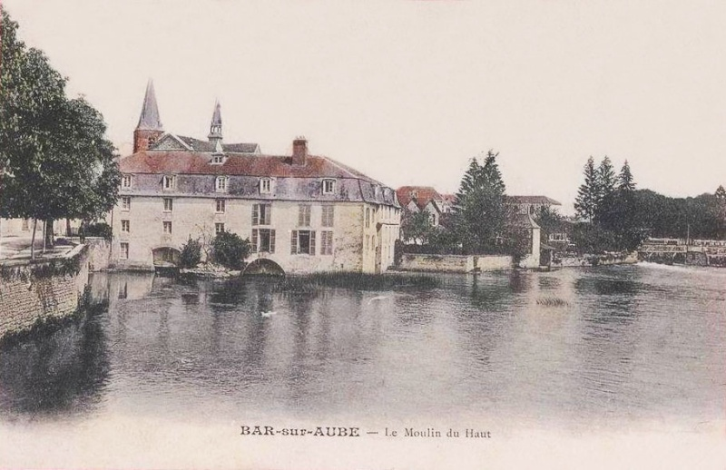 Dt 10: Aube Moulin de Bar sur Aube Devilliers Moulin13
