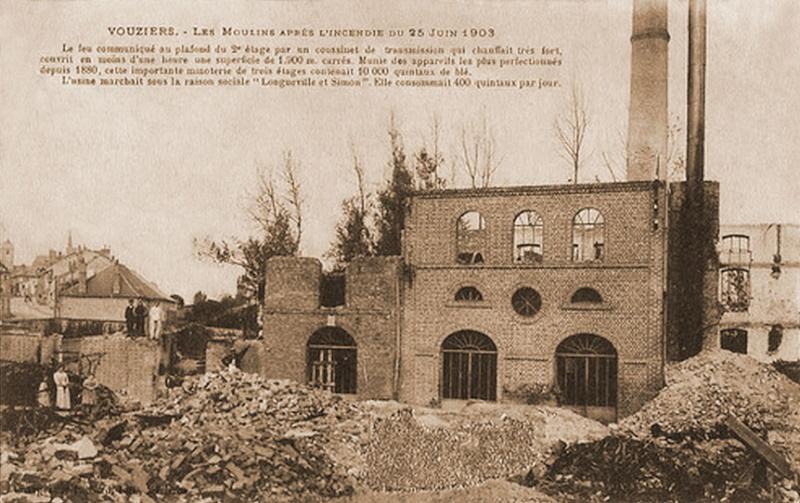 Les plombs de minoterie Moulin17