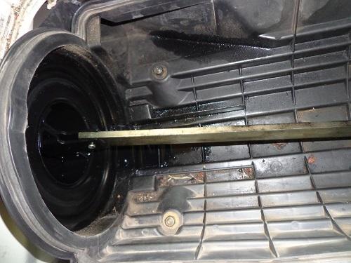 Probléme fumée à froid/ huile dans filtre à air C11