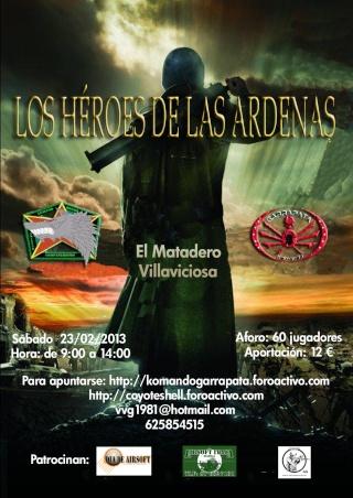 Los heroes de las ardenas, partida abierta (DE Mañana) 23.02.13 El Matadero Ardena10