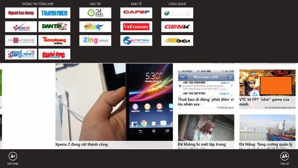 """Các ứng dụng Việt đang """"hot"""" trên Windows 8 2-d86410"""