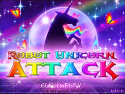 [Jeu Flash] Robot Unicorn Attack Sans_t15