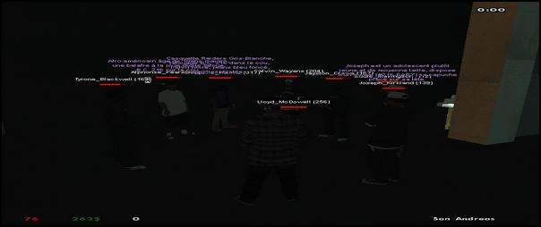 216 Black Criminals - Screenshots & Vidéos II - Page 3 Sa-mp-12