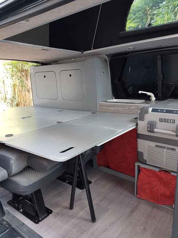 VENDU - Transporter 5 places  140 cv dsg7 toit HILO  18-lit10