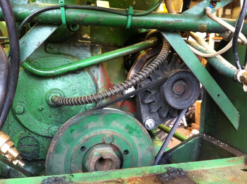 Remplacement de la dynamo part un alternateur sur D25 Img_1510
