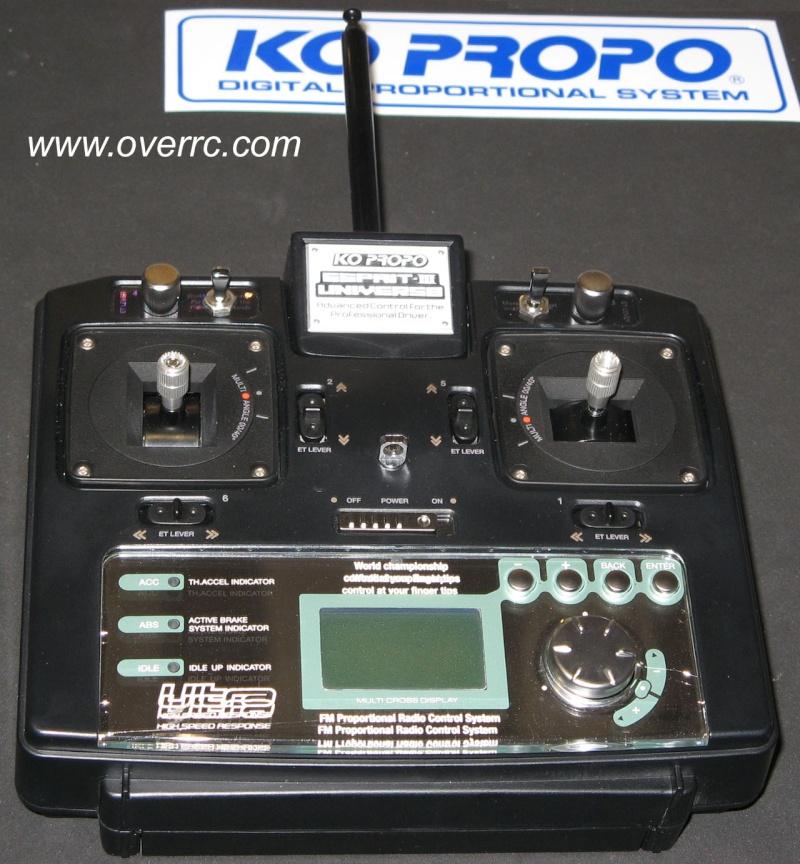 Radio a manches pour nos bolides Koprop10
