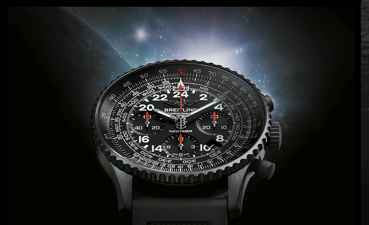 Navitimer Cosmonaute Blacksteel  Edition  Naviti10