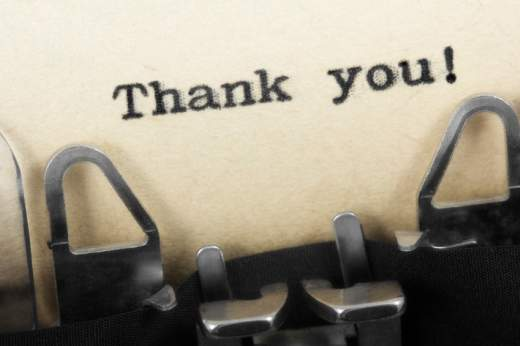 'Thanks' and 'Thank' Thank-10