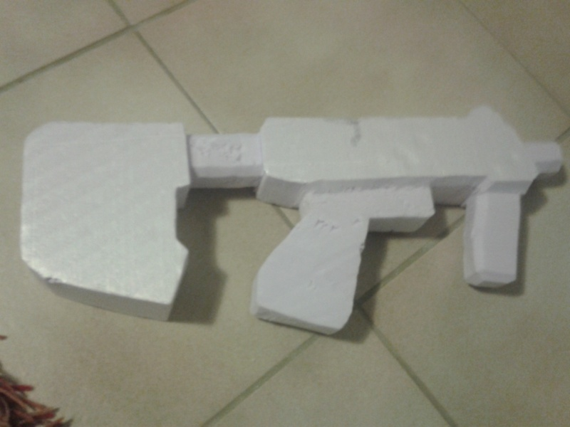 """Maquette """"SMG Halo 3 & ODST"""" 2013-015"""