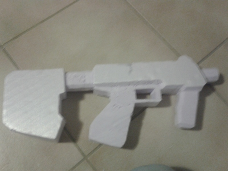 """Maquette """"SMG Halo 3 & ODST"""" 2013-016"""