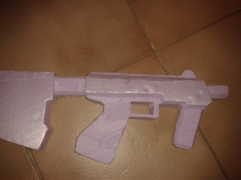 """Maquette """"SMG Halo 3 & ODST"""" 2013-017"""