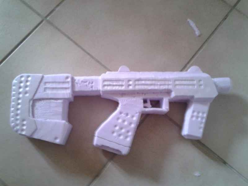 """Maquette """"SMG Halo 3 & ODST"""" 2013-019"""