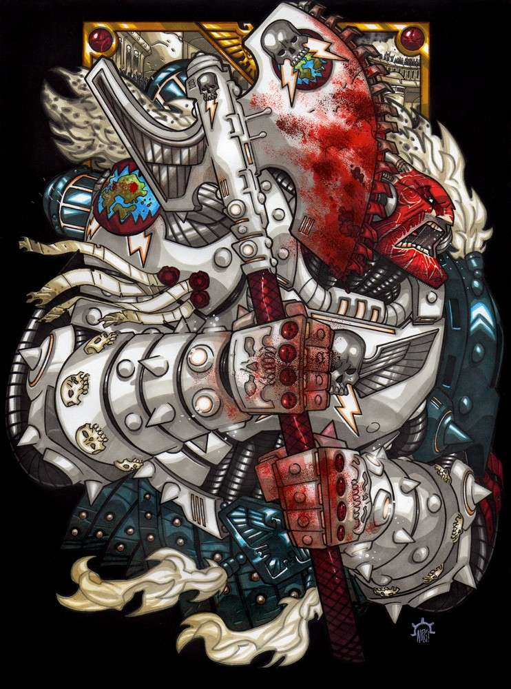 [W30K] Legiones Astartes XII : World Eaters Angron10