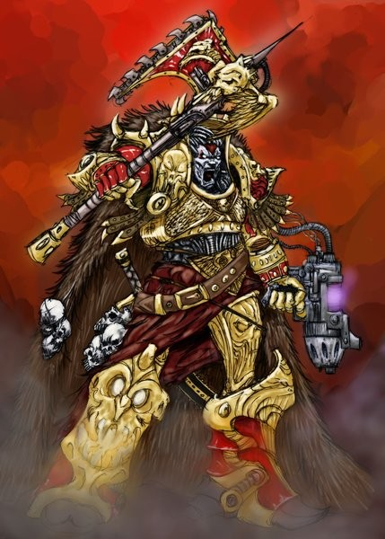 [W30K] Legiones Astartes XII : World Eaters Angron12