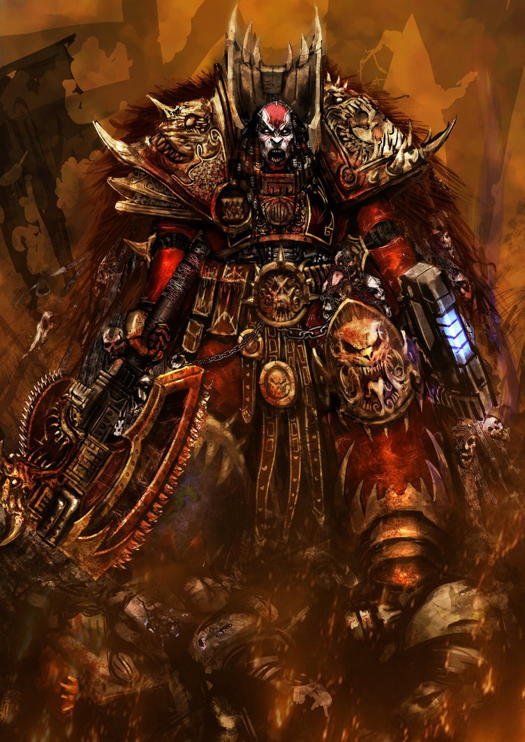 [W30K] Legiones Astartes XII : World Eaters Angron16