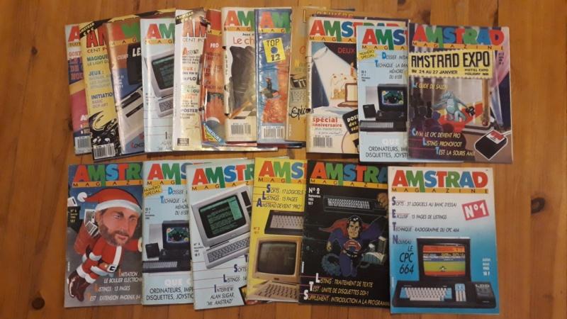 [VENDU] Lots de 55 magasines Amstrad CPC et divers 1985 à 1989 Amstra10