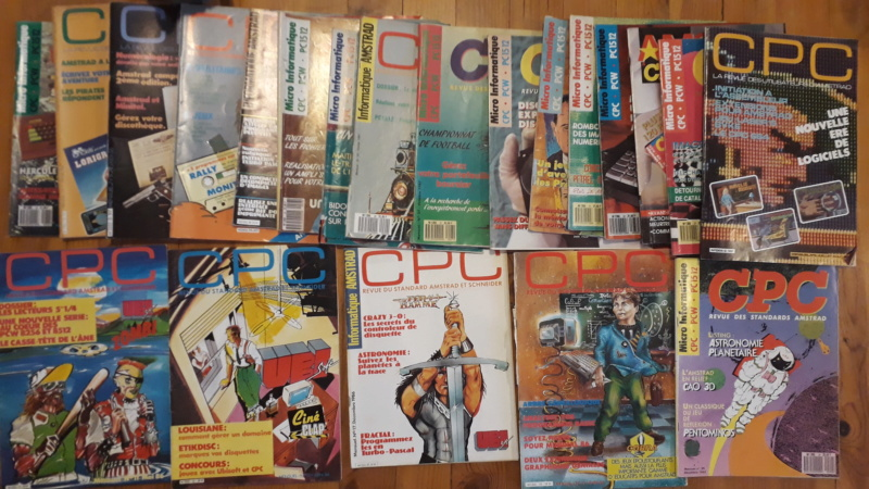 [VENDU] Lots de 55 magasines Amstrad CPC et divers 1985 à 1989 Cpc10