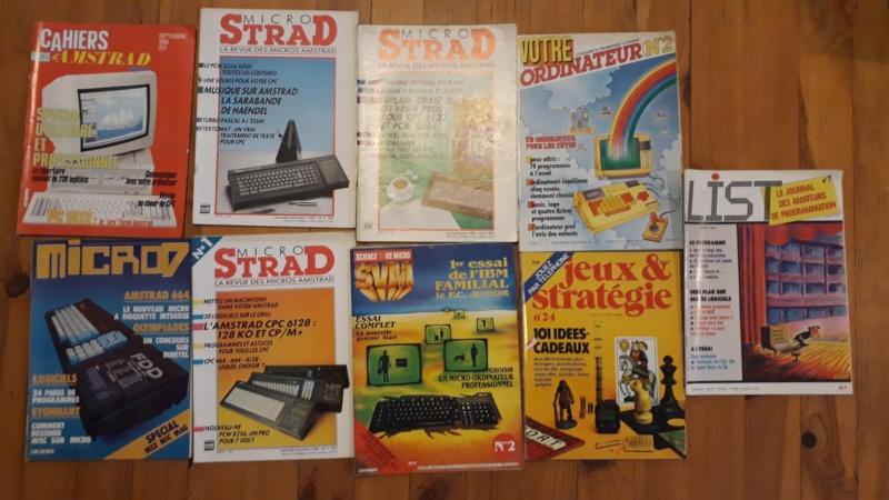 [VENDU] Lots de 55 magasines Amstrad CPC et divers 1985 à 1989 Divers10