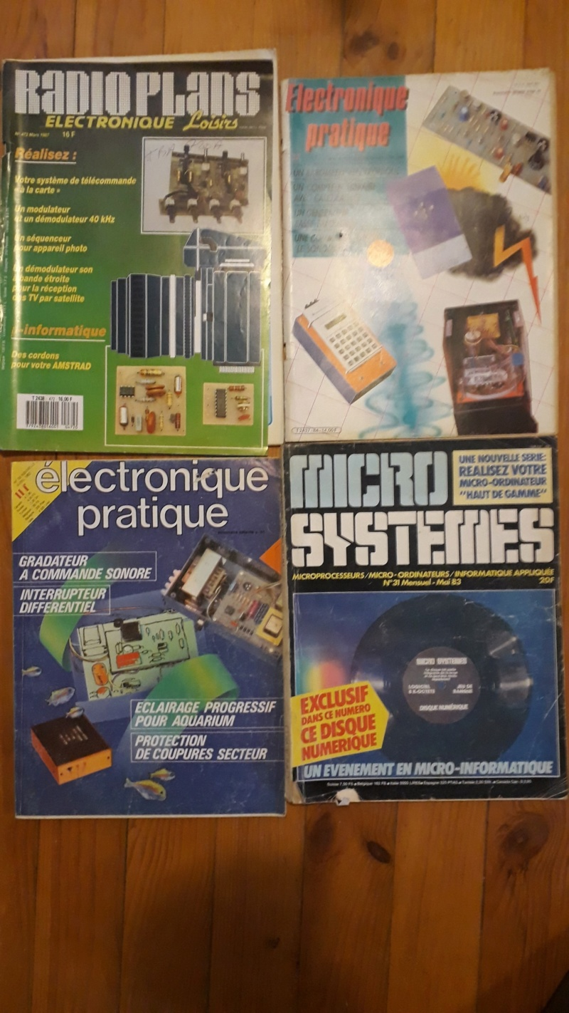[VENDU] Lots de 55 magasines Amstrad CPC et divers 1985 à 1989 Electr10