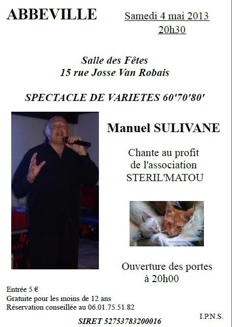 Spectacle du 4 mai prochain salle des fêtes d'Abbeville Affich12