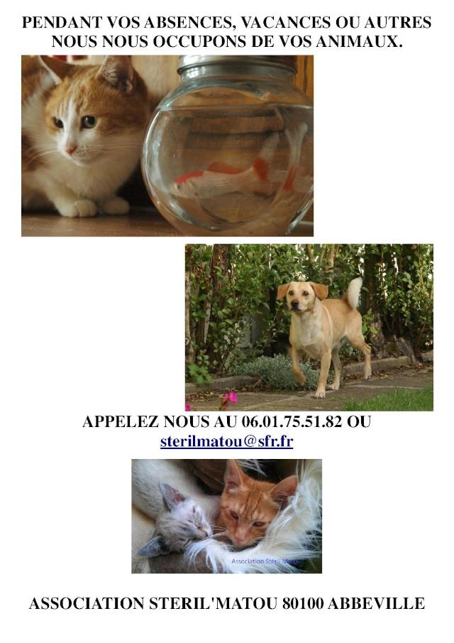 Nous gardons vos animaux, tarif forfaitaire Garde_10