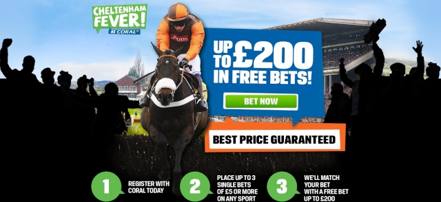 Coral Cheltenham Festival Second Place Refund Friday Coral210