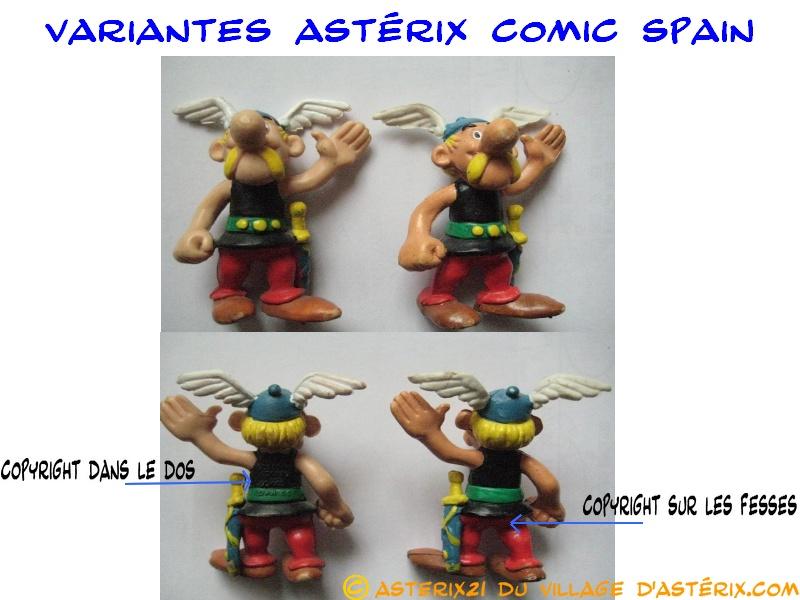 Astérix® les Variantes d'Hier et d'Aujourd'hui [Le Catalogue] Varian53